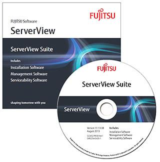 Fujitsu ServerView media